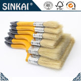 Best Selling Yellow Handle 100% Pur White Bristle Paint Brush