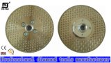 Two Sides Starred Electroplated Blade with Flange (M14)