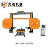 CNC-2000 Diamond Wire Saw Stone Machine for Granite Quarry Marble Cutting