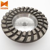 Professional 100mm Diamond Grinding Cup Wheel with Aluminum Base