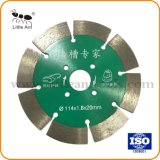 Wall Hardware Tools Hot Pressed Cutting Disk Sintered Diamond Saw Blade for Wall 114mm/4.5