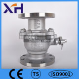 304 Stainless Steel Hight Quality Flanged Ball Valve Dn15