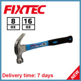 Fixtec 8oz 16oz Claw Hammer with Fiber Handle American Type