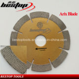 Arix Segmented Diamond Blade for Granite Stone Dry/Wet Cutting