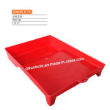 E-72 Hardware Decorate Paint Hand Tools Red Color Plastic Paint Tray