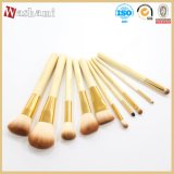Washami Top Quality Makeup Brush Kit 10PCS Cosmetic Brush Set
