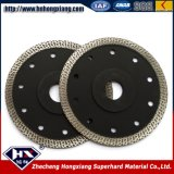 Super Thin Cyclone Mesh Turbo Diamond Saw Blade for Marble