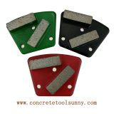 Concrete Trapezoid Diamond Grinding Disc for Floor Grinder