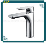 Easy Installation Single Handle 1 Hole Polished Surface Washbasin Faucet