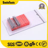 Custom Logo 33PCS Insert Screwdriver Bits Set with Blister Card Package