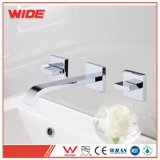 Cheap Brass Wall Mounted Basin Faucet in 3 Hole, Faucet Accessories