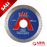 Sali Wet Cutting Saw Blade Continuous Rim Diamond Saw Blade