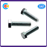 DIN/ANSI/BS/JIS Carbon-Steel/Stainless-Steel Galvanized Hexagon Screw for Building and Bridge