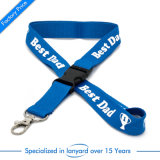 Wholesale Customized Card Holder Flat Polyester Lanyard Adjustable Accessories