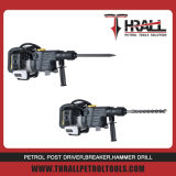 Thrall DHD-58 petrol breaker, rotary hammer with a chisel