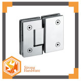 Standard Glass Door Accessories, Straight Edge 180degree Bathroom Glass Clamp