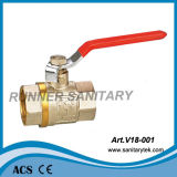 Brass Ball Valve with Steel Handle (V18-001)