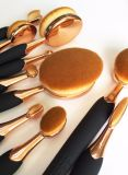 Bee Shapped Oval Makeup Brush 6PCS Set Cosmetics Accessory