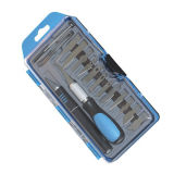 18PCS Hobby Knife Set Packing of Plastic Box