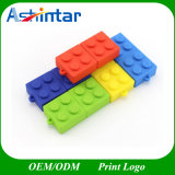 USB2.0/USB3.0 Plastic USB Flash Drive Building Block Shape USB Stick