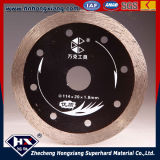 Continuous Rim Edge Diamond Saw Blade for Hard Stone