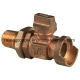 Bronze Ball Valve for Water Meter