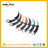 Handmade Hunting Karambit Knife CS Go Never Fade Counter Strike Fighting Survival Tactical Knife Claw Camping Knives Tools