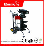 Big Power 173cc Hand Push Earth Auger for Sale with Automatic Machine