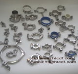 Stainless Steel Sanitary Tube Connection Pipe Clamp Fittings