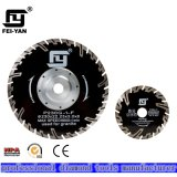 Diamond Turbo Blade with Flange for Granite Cutting