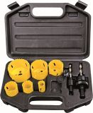 Professional Power Tools Accessories 9PCS HSS Bi-Metal Hole Saw Set