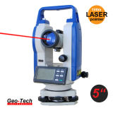 Laser Theodolite Surveying Equipment Electronic Theodolite (GTH-05L)