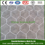 Double Twist PVC Galfan Galvanized Coated Hexagonal Wire Mesh Gabion