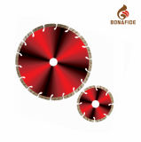 Diamond Tools Hot Pressed Sintered Segmented Turbo Diamond Saw Blade for Cutting Granite