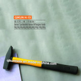 H-13 Construction Hardware Hand Tools Fiberglass Handle German Type Machinist's Hammer