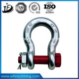 Carbon Steel Bending Forging Tackle Rigging Shackles for Ship