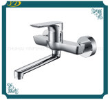 Good Performance Brass Long Spout Wall Mounted Bathroom Kitchen Faucet