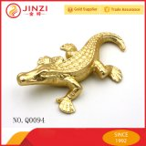 Factory Making Metal Die-Casting Lizard Crocodile Sculpture Hardware
