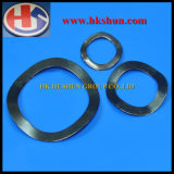 Wave Spring Washer with Black Zinc Plating (HS-SW-006)
