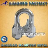 Rigging Hardware DIN741 Galvanized Malleable Iron Wire Rope Clips