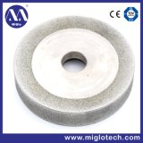 Customized Concave Edge Electroplated Bonded Diamond Grinding Wheel (GW-100082)