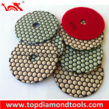Dry Angle Grinder Polishing Pads Diamond Tools