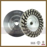 Diamond Welded Turbo Cup Wheels for Grinding Stone