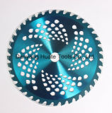 Tct Circular Grass Cutting Blade, Trimmer Cutting Blades, Carbite Tips Blade