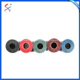 Mounted Grinding Abrasive Flap Wheels for Steel and Wood
