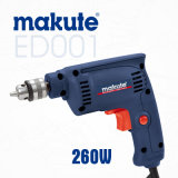 Makute 260W 6.5mm Electric Power Tools Hand Drill Machine (ED001)