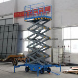 800kg Electric Scissor Lift, with Power AC/DC Diesel