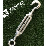 Galvanized Forged Standard DIN1480 Turnbuckle for Rigging
