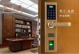 High-End Electric Fingerprint Keypad Smart Home Hotel Door Lock