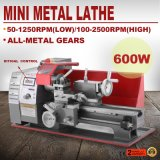 CNC Lathe Wood Construction 180 Model 600W Bench Mini Metal Lathe Machine